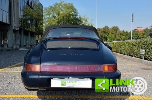 1990 Porsche 911 Cabrio Carrera 2 Tiptronic (964) For Sale (picture 4 of 6)