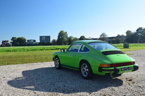 1974 The Gelbgruen Porsche 911 For Sale (picture 1 of 6)