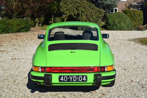 1974 The Gelbgruen Porsche 911 For Sale (picture 4 of 6)