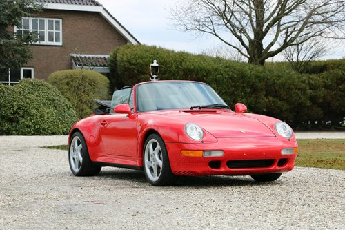 1-off: 1998 Porsche 993 Carrera 2S Cabriolet For Sale (picture 1 of 6)