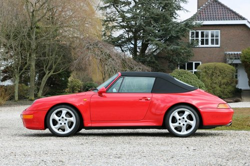 1-off: 1998 Porsche 993 Carrera 2S Cabriolet For Sale (picture 2 of 6)