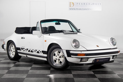 1984 / A Porsche 911 3.2 Carrera Cabriolet *UNDER OFFER* For Sale (picture 1 of 6)
