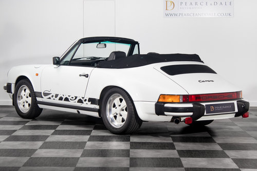 1984 / A Porsche 911 3.2 Carrera Cabriolet *UNDER OFFER* For Sale (picture 2 of 6)