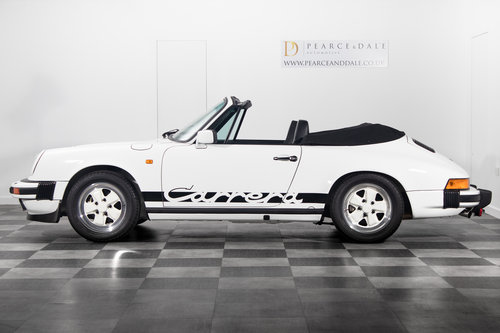 1984 / A Porsche 911 3.2 Carrera Cabriolet *UNDER OFFER* For Sale (picture 3 of 6)