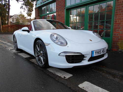 2015 Porsche 911 C2S Cabriolet PDK For Sale (picture 2 of 6)