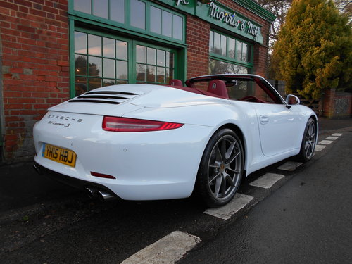 2015 Porsche 911 C2S Cabriolet PDK For Sale (picture 3 of 6)