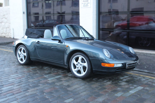 1994 Porsche 911 3.6 993 Carrera Cabriolet 2dr For Sale (picture 1 of 6)