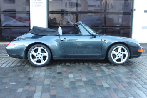 1994 Porsche 911 3.6 993 Carrera Cabriolet 2dr For Sale (picture 3 of 6)