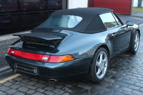 1994 Porsche 911 3.6 993 Carrera Cabriolet 2dr For Sale (picture 5 of 6)