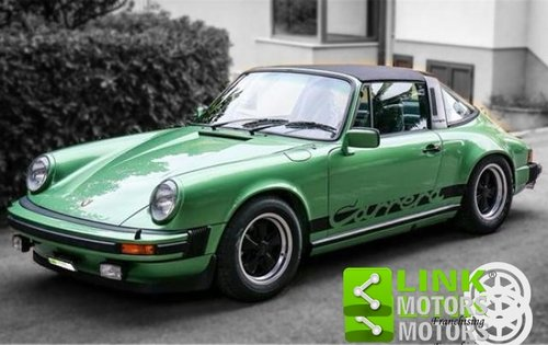 Porsche 911 3.0 Carrera targa 200Cv (1976) MATCHING NUMBER For Sale (picture 1 of 6)