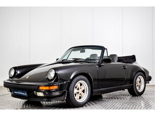 1986 Porsche 911 3.2 Convertible For Sale (picture 1 of 6)