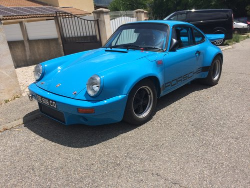1974 PORSCHE CARRERA 3.0 RS - IROC REPLICA For Sale (picture 1 of 6)