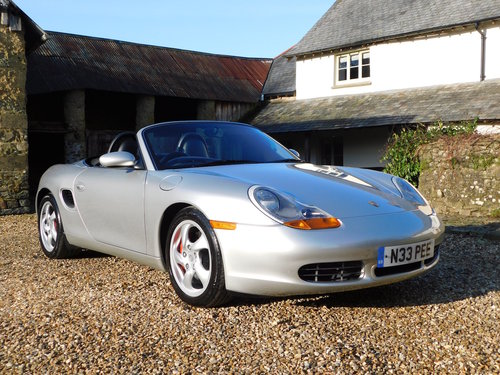 2000 Porsche 986 Boxster 3.2 S - very low mileage, superb SOLD (picture 1 of 6)