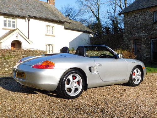 2000 Porsche 986 Boxster 3.2 S - very low mileage, superb SOLD (picture 2 of 6)