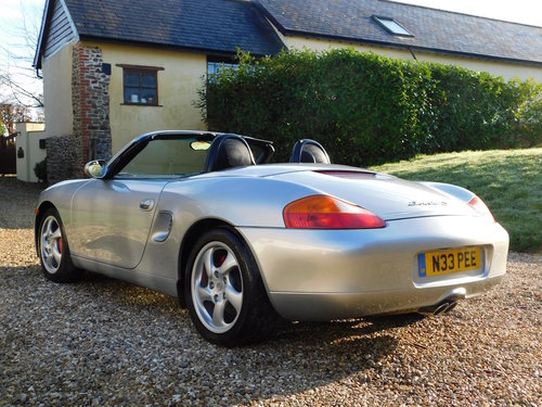 2000 Porsche 986 Boxster 3.2 S - very low mileage, superb SOLD (picture 3 of 6)
