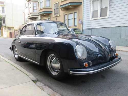 1956 Porsche 356A Coupe - Original Engine, Original Floors For Sale (picture 1 of 6)