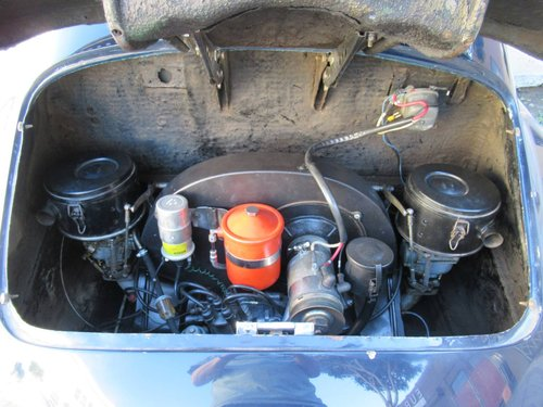 1956 Porsche 356A Coupe - Original Engine, Original Floors For Sale (picture 4 of 6)