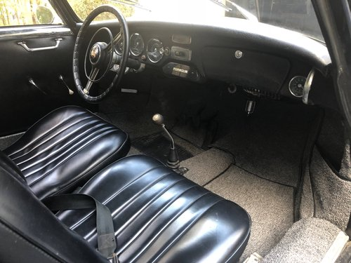 1956 Porsche 356A Coupe - Original Engine, Original Floors For Sale (picture 6 of 6)