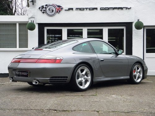 2004 Porsche 911 996 Carerra 4S Manual Widebody Coupe Outstanding For Sale (picture 5 of 6)