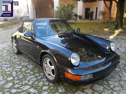 BEAUTIFULLY  PRESERVED 1990 PORSCHE 964 CABRIOLET For Sale (picture 1 of 6)
