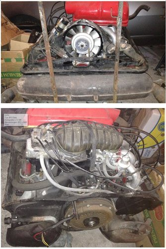 1974 911 930 935 SC RS Project car 2700 cc plus spares For Sale (picture 5 of 6)
