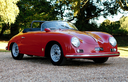 1957 Porsche 356A GS Carrera Speedster – RHD SOLD (picture 1 of 6)
