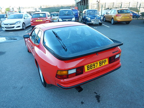 1985 PORSCHE 944 Lux ~ 5 Speed Manual ~  SOLD (picture 4 of 6)
