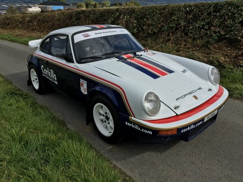 1980 Porsche 911 SC Historic Rally Car For Sale (picture 1 of 6)