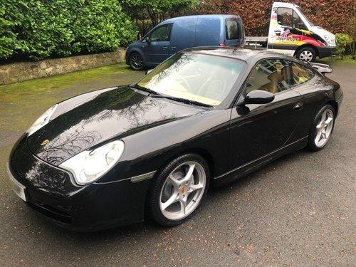 2001 £16,996 : 2002 model PORSCHE 996 CARRERA 4 MANUAL For Sale (picture 2 of 6)