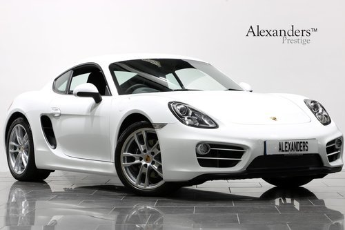 2013 13 PORSCHE CAYMAN 2.7 981 For Sale (picture 1 of 6)