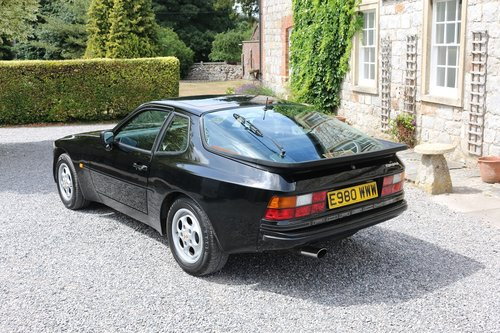 1988 PORSCHE 944 COUPE,AUTOMATIC,65K,FSH,19 SERVICE STAMPS! SOLD (picture 2 of 6)