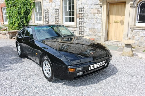 1988 PORSCHE 944 COUPE,AUTOMATIC,65K,FSH,19 SERVICE STAMPS! SOLD (picture 3 of 6)