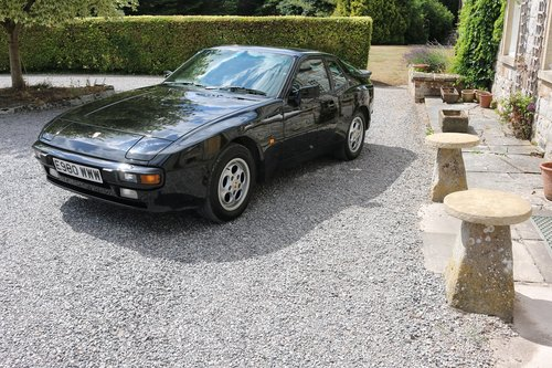 1988 PORSCHE 944 COUPE,AUTOMATIC,65K,FSH,19 SERVICE STAMPS! SOLD (picture 1 of 6)