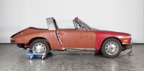 1968 Porsche 912 Soft Window project burgundy/matching For Sale (picture 1 of 6)