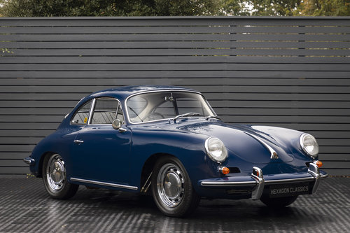 1963 PORSCHE 356 C CARRERA 2 QUAD CAM For Sale (picture 1 of 6)