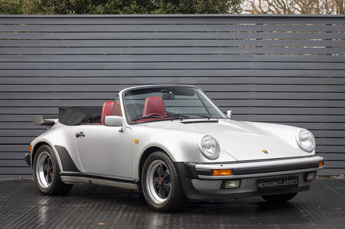 1989 PORSCHE 911 (930) TURBO CABRIOLET G50 SOLD (picture 1 of 6)