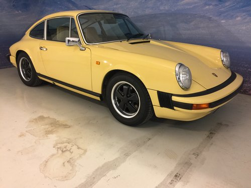 1974 Porsche 911 2,7 S Matching Numbers SOLD (picture 1 of 6)