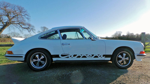1972 Porsche 911 E 2.4 MFI (RS Specification) For Sale (picture 3 of 6)