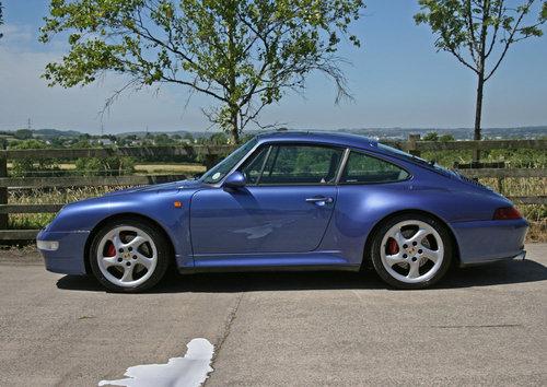 1998 1997 PORSCHE 911 (993) CARRERA 4S SOLD (picture 1 of 6)