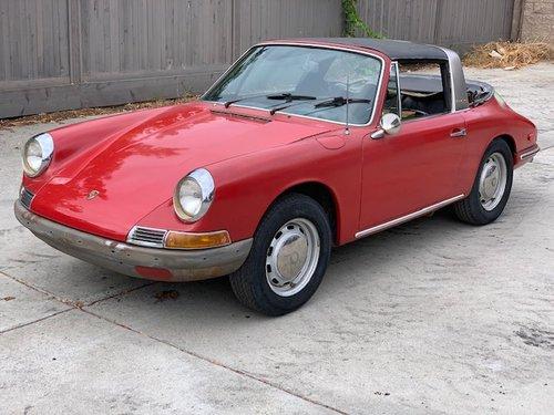 1968 Porsche 912 Soft-Window Targa # 22774 For Sale (picture 1 of 5)