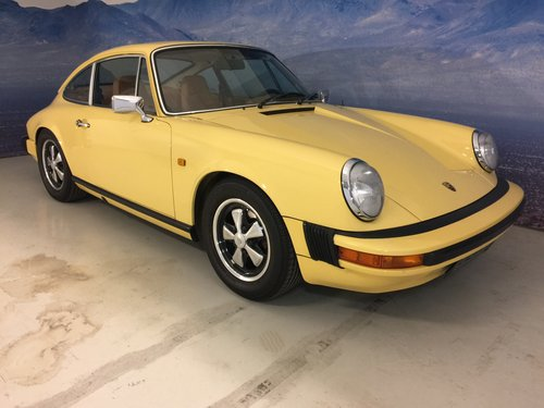 1976 Porsche 911 2,7 S Matching Numbers For Sale (picture 1 of 6)
