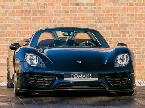 2015 Porsche 918 Spyder Weissach For Sale (picture 1 of 6)