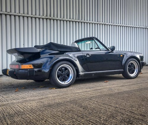 1989 PORSCHE 911 'SUPERSPORT' CABRIOLET FOR SALE SOLD