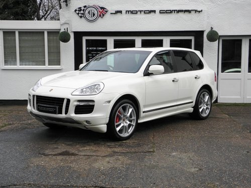 2009 Porsche Cayenne 4.8 GTS Tiptronic S finished in Sand White  SOLD (picture 1 of 6)