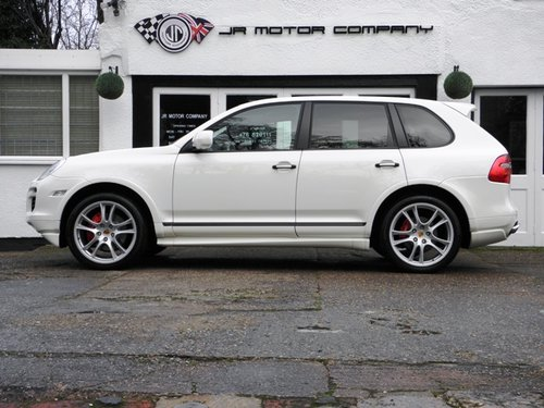 2009 Porsche Cayenne 4.8 GTS Tiptronic S finished in Sand White  SOLD (picture 2 of 6)