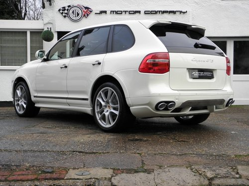 2009 Porsche Cayenne 4.8 GTS Tiptronic S finished in Sand White  SOLD (picture 3 of 6)