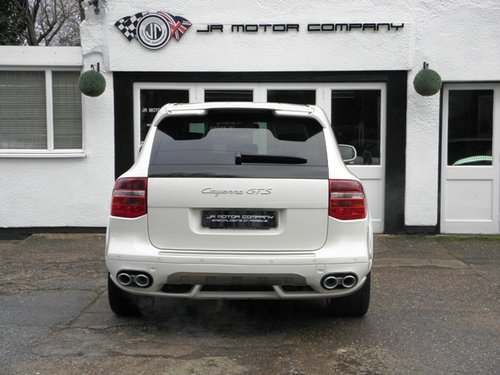 2009 Porsche Cayenne 4.8 GTS Tiptronic S finished in Sand White  SOLD (picture 4 of 6)