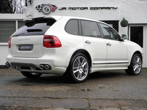 2009 Porsche Cayenne 4.8 GTS Tiptronic S finished in Sand White  SOLD (picture 5 of 6)