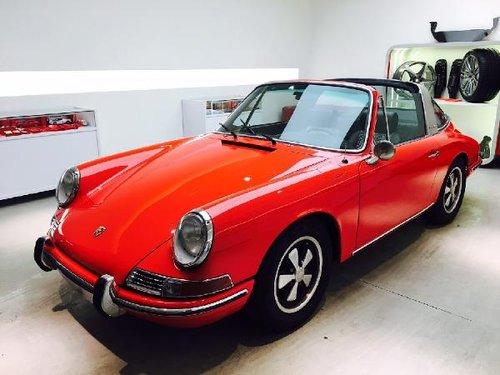 1967 PORSCHE 912 TARGA SWB For Sale (picture 1 of 6)