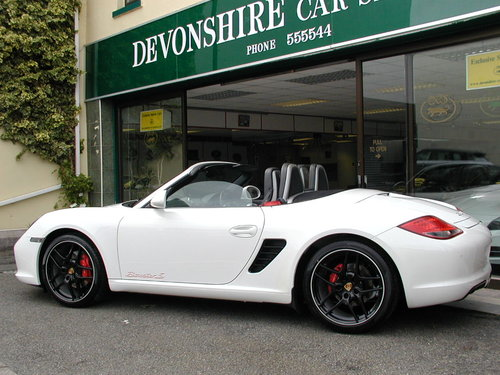 2010 PORSCHE BOXSTER 3.4S PDK  Massive Specification For Sale (picture 1 of 5)